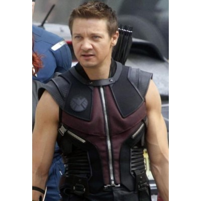 The Avengers Hawkeye Movie Leather Costume